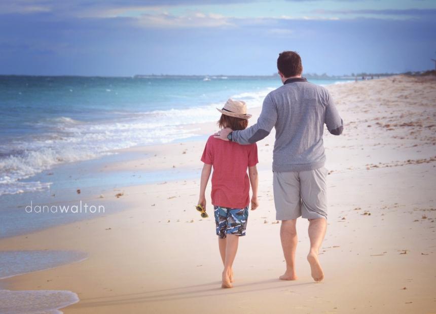 Brad and Mason beach.jpg